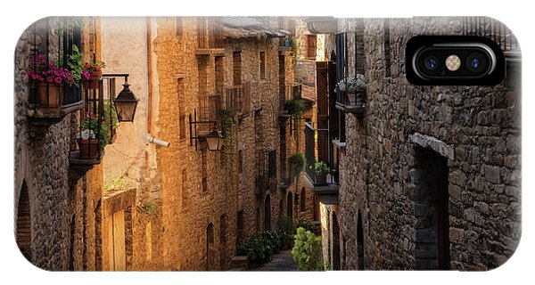 By The Town Of Ainsa In The Province Of Huesca IPhone Case