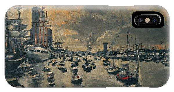 Briex iPhone Case - Bye Bye Sail Amsterdam by Nop Briex