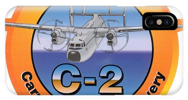 C-2 Greyhound IPhone Case
