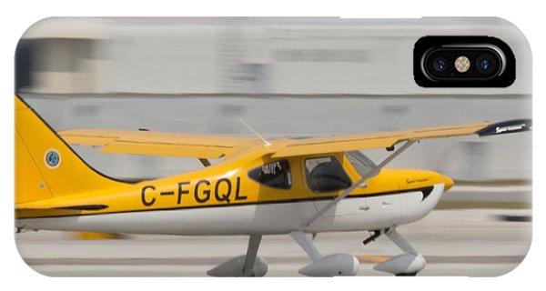 C-fgql Aircraft IPhone Case