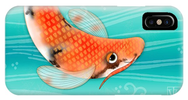 C Is For Cal The Curious Carp IPhone Case