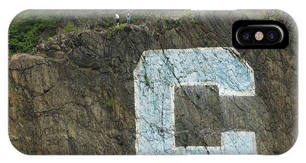 IPhone Case featuring the photograph C Rock Of Columbia University by Jose Rojas