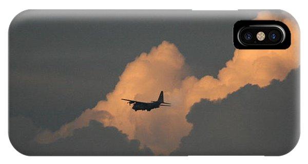 C130 Hercules Sunset 2 IPhone Case