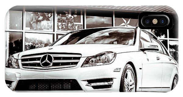 C250 In Black And White IPhone Case