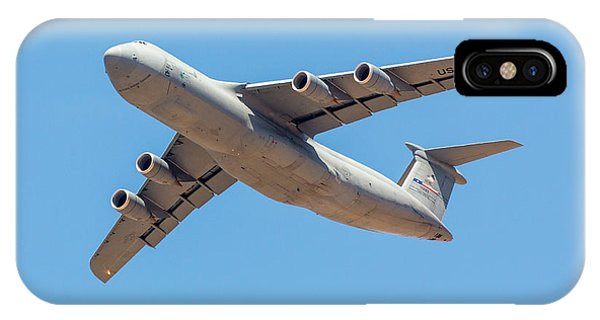 IPhone Case featuring the photograph C5 Galaxy In Flight by SR Green