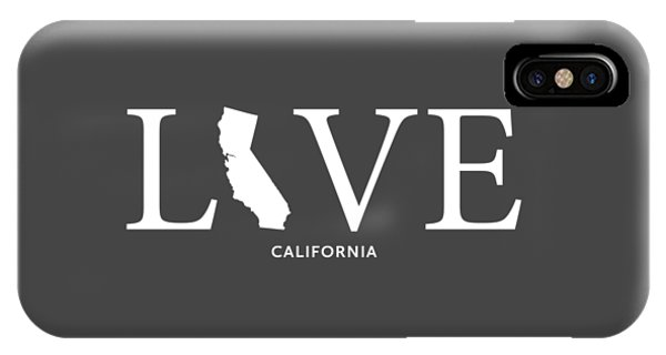 IPhone Case featuring the mixed media Ca Love by Nancy Ingersoll
