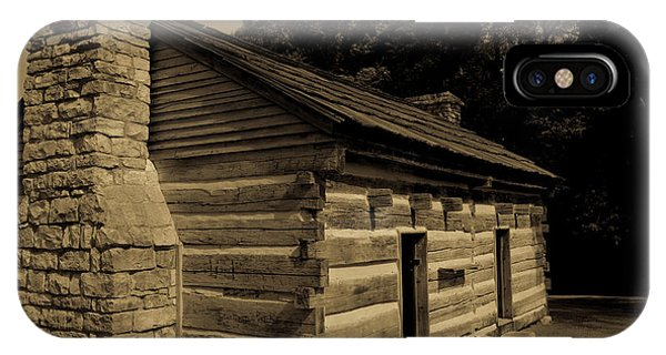 IPhone Case featuring the photograph Cabin At The Hermitage by James L Bartlett