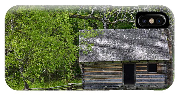 Cabin At Zebulon Vance Birthplace IPhone Case