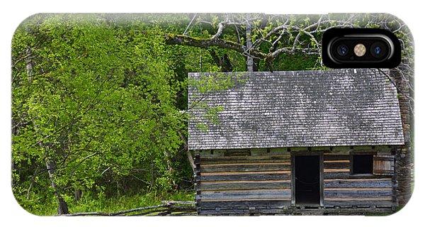 Cabin At Zebulon Vance Birthplace IPhone Case