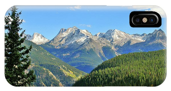 Rocky Mountain iPhone Case - Cabin In The San Juans by Scott Mahon