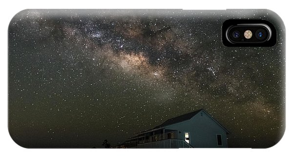 Cabin Under The Milky Way IPhone Case
