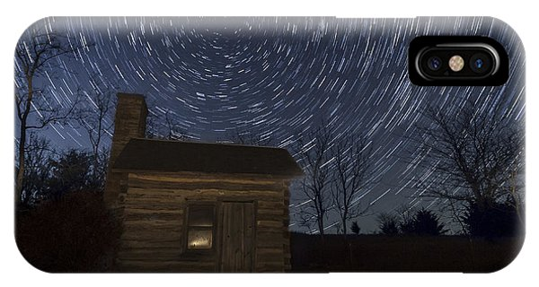 Cabin Under The Stars IPhone Case
