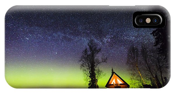 Cabins Glow IPhone Case