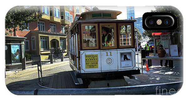 Cable Car Turnaround IPhone Case