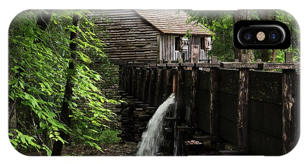 IPhone Case featuring the photograph Cable Grist Mill by Andrea Silies