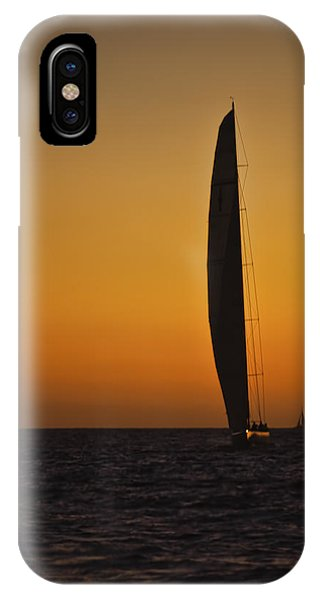 Cabo Sailboat Sunset IPhone Case