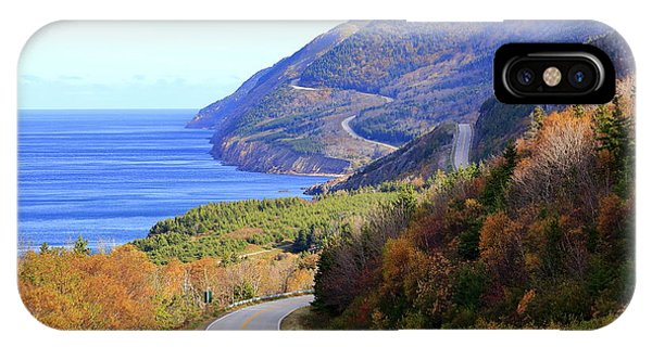 Cabot Trail, Cape Breton, Nova Scotia IPhone Case