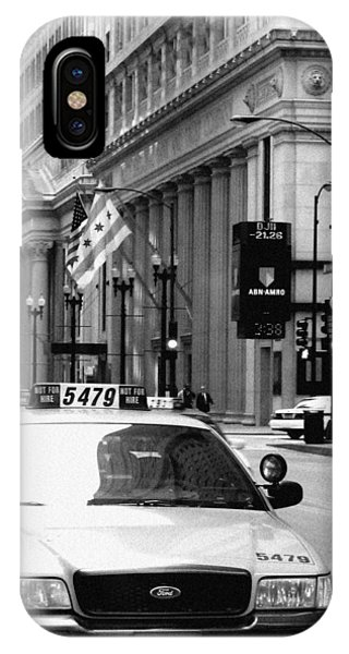 Cabs In The City IPhone Case