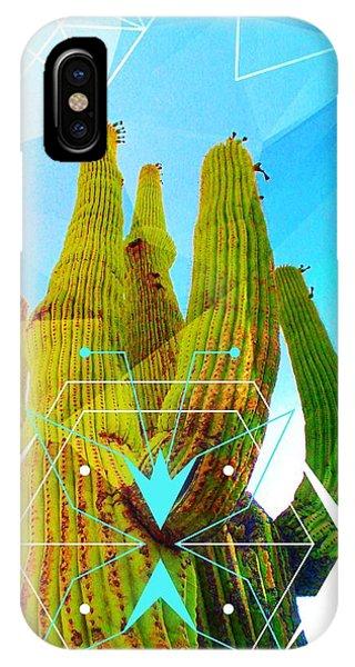 Cacti Embrace IPhone Case