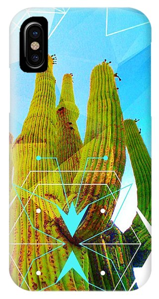 Cacti Embrace IPhone Case