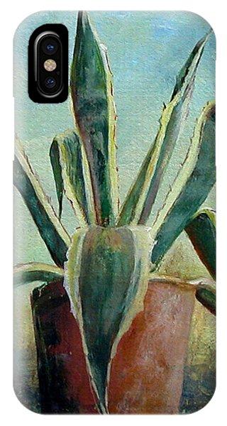 Cactus 2 Phone Case by Muriel Dolemieux