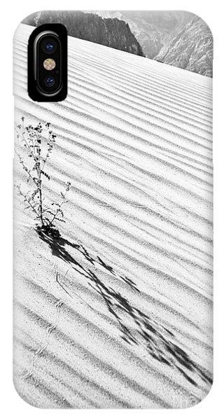 Cactus In Desert IPhone Case
