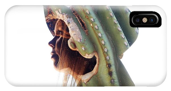 Cactus Suit Of Armor IPhone Case