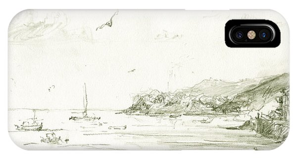 Fishing Boat iPhone Case - Cadaques by Juan Bosco