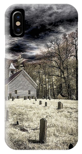 Cades Cove Church IPhone Case