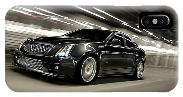 iPhone Case - Cadillac Cts-v by Eloisa Mannion