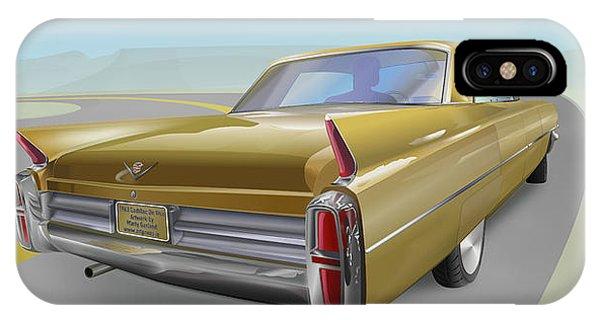 Cadillac De Ville IPhone Case