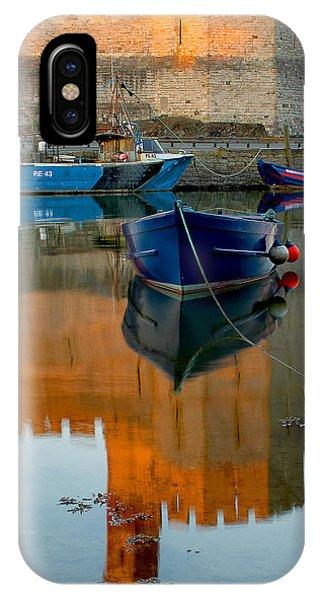 Caernarfon Reflections IPhone Case