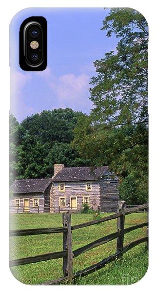 1e140 Caesar Creek Pioneer Village Photo IPhone Case