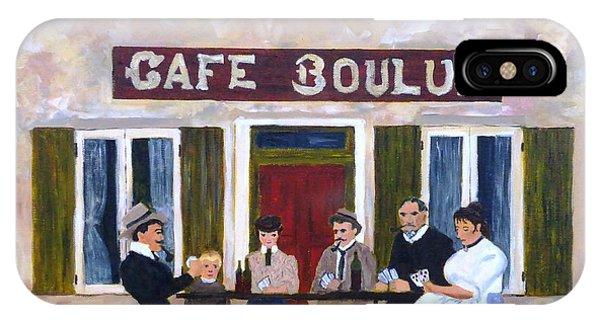 Cafe Boulud IPhone Case