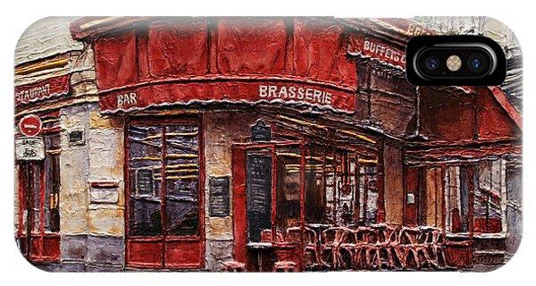 Cafe Des 2 Moulins- Paris IPhone Case