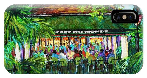 Cafe Du Monde Morning IPhone Case