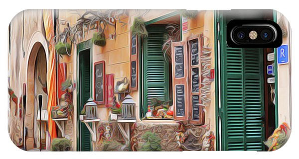iPhone Case - Cafe by Harry Warrick
