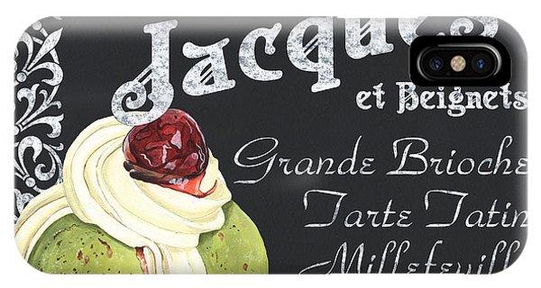 Cafe iPhone Case - Cafe Jacques by Debbie DeWitt