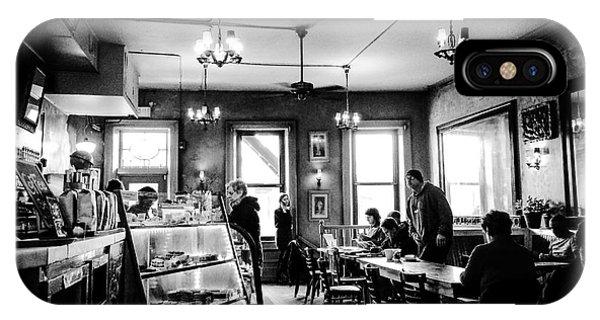 Cafe Light Phone Case by JMerrickMedia