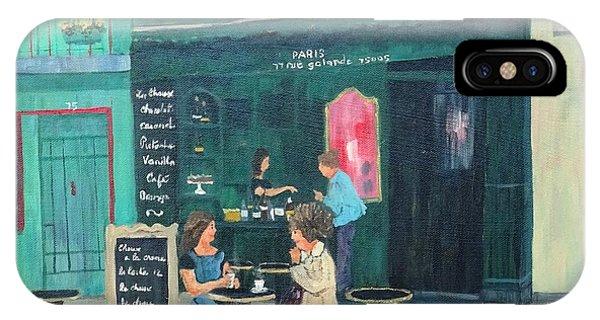 Cafe Odette IPhone Case