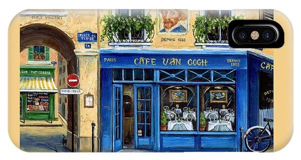 Cafe Van Gogh II IPhone Case