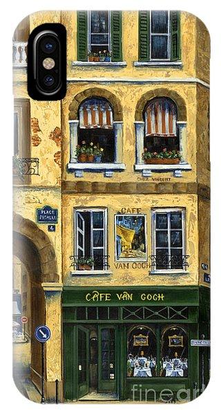 Cafe Van Gogh Paris IPhone Case