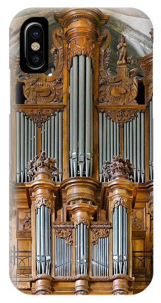Cahors Cathedral Organ IPhone Case