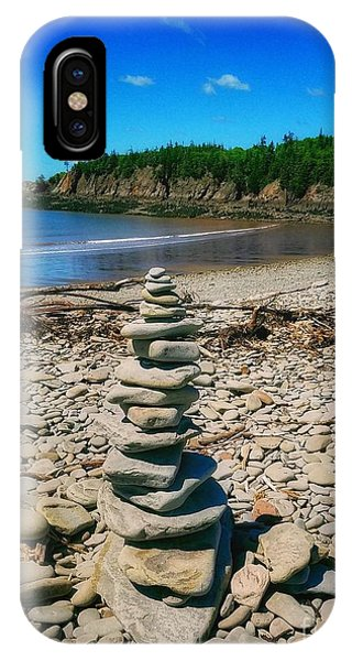 Cairn In Eastern Canada IPhone Case