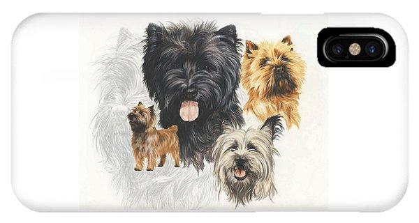 Cairn Terrier Revamp IPhone Case