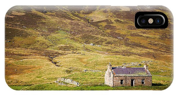 Heather iPhone Case - Cairngorms Cottage by Jane Rix