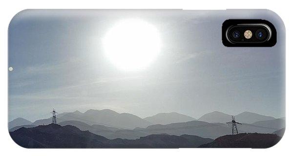 Cajon Pass Sunset IPhone Case