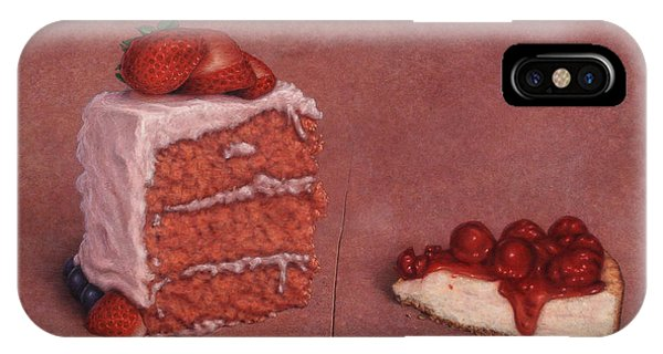 Cake iPhone Case - Cakefrontation by James W Johnson