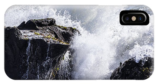 California Coast Wave Crash 6 IPhone Case
