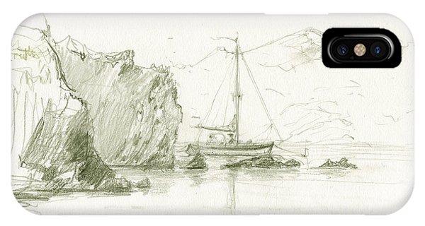 Fishing Boat iPhone Case - Cala Culip Cap De Creus by Juan Bosco